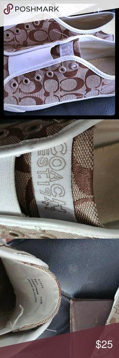 Coach Fashion Tennis Shoes Coach Fashion Tennis Shoes style bev size 10 Coach Shoes