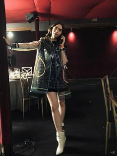 Lily Collins, Punk, Female, Celebrities, Film, Style, Fashion, Movie, Swag