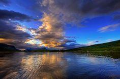 Os magníficos céus da Noruega. De John Aavitsland.