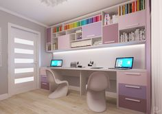 #studyroom #pink #girl #books #studydesk #studydesign