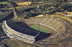 Parkstadion, Gelsenkirchen. Stadium used at the 1974 World Cup Finals.