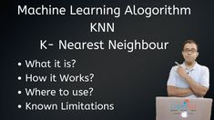 KNN of K Nearest Neighbor is a Supervise Learning Algorithm which is mainly used in the classification of data.  In this video, I've explained what is KNN and how it works. I've explained the same with the help of a problem statement.  Hope this video helps you in understanding KNN and how it works.