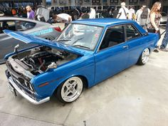 SR20DET-powered Datsun from the 2012 SEMA Show