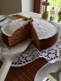 Earl Grey Tea Cake 💕