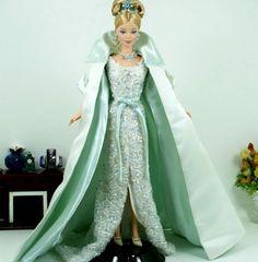 I like the beaded dress on this ooak Barbie