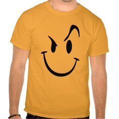 Crazy Smiley Graphic T-Shirt T-Shirt, Hoodie for Men