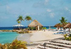 On The Beach At Curacao Marriott Resort Caribbean