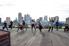 All female dance crew. #venusflytrap #dancecrew #rooftop #hiphop #dance. by kanjiredwolf