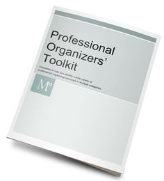 """New to the profession of organizing and not sure what you'll need or want on the job?  Here are seven lists of tools + supplies to consider for residential, office, hoarding jobs and more. For more info go to """"Organizer Training + Forms"""" at www.MetropolitanO..."""