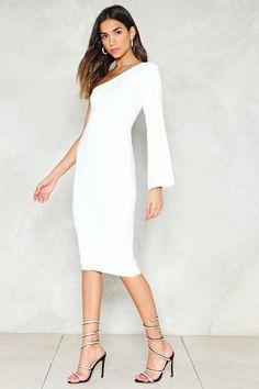 Nasty Gal nastygal One-Hit Wonder Midi Dress