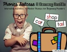 Yay for Growing Readers! A HUGE Bundle! Enter for your chance to win 1 of 2. Phonics Suitcase: A GIANT Bundle- Interactive Activities for Growing Readers  (465 pages) from TheKinderLife on TeachersNotebook.com (Ends on on 10-31-2015) This huge bundle is perfect for centers, small group instruction, homework, and more! Love this? Check it out in my store... it is currently 50% off!!.