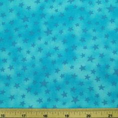 Ditsy-Stars-Toss-On-Galaxy-Style-Background-100-Cotton-Fabric