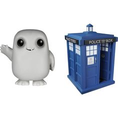Funko - Doctor Who Pop! TV Vinyl Collectors Set: Tardis, Adipose - Multi