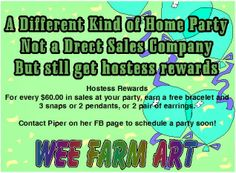 WEe Farm Art   Vibrant Art, Re-purposed Materials, Crafts, Jewelry, Baked & Garden Goodies, Etceteras.   http://www.weefarmarts.com