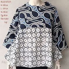 Blouse Batik, Batik Dress, Batik Parang, Batik Kebaya, Batik Fashion, Kurti Neck Designs, Blouse Models, Asian Fabric, African Wear