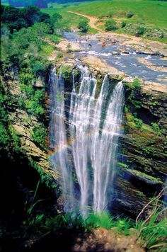Lusikisiki Eastern Cape, South Africa Be Inspired! Think what you could do and see in South Africa while making a difference! Places To Travel, Places To See, Places Around The World, Around The Worlds, Les Seychelles, Le Cap, Beautiful Waterfalls, Africa Travel, Vacation Spots