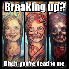 Cover up...dead to me...