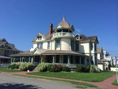 Old Victorian mansion. Long Beach Island New Jersey.  Photo taken by; JDS