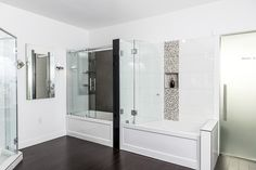 Eclipse Glass has been installing glass shower and bathtub enclosures in residences in Metro Vancouver since 2000. Our 10 and 12 mm tempered glass panels and doors are durable, shatter resistant, waterproof and, above all beautiful. They add a contemporary, elegant design to just about every style of décor and are an ideal medium for …