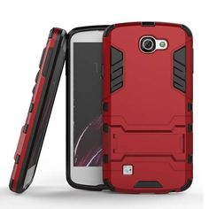 For LG Zone 3 Cases VS425 Slim Hard Back Phone Case Shockproof Robot Armor Hybrid Rubber Cover for Optimus Zone 3 VS425 4.5 inch #clothing,#shoes,#jewelry,#women,#men,#hats,#watches,#belts,#fashion,#style