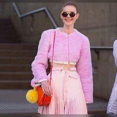 #springfashion #fur #furjacket #pinkfur #bomberjacket #allpinkeverything #furbagcharm #yellowfur #springstyle #streetstyle #springcolors #ootd #bolero #baremidriff #nopinkyoustink #whatimwearing #fashionkilla #instafashion #keepitchic #globalstyle #furstyle #manoswartz #est1889