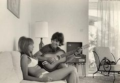 ♡♥George with wife Pattie Boyd♥♡