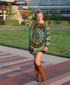 crochet circle top - #crochet clothing from Cupani Fashion