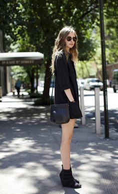 outfit | black on black