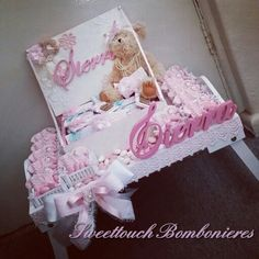Tray Decoration For Baby Girl Custom Baby Girl Chocolate Arrangement  Baby Events Planning  Pinterest Inspiration Design