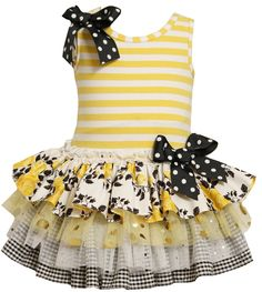 "Another possible dress for Lily's ""bee""day party:)"