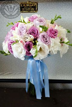 bouquet created by Lovely Bridal Blooms
