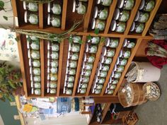 I want something like this for Herbal apothecary storage