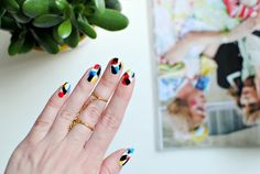burkatron: nails | pop art nail art tutorial