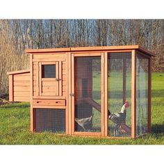 Trixie Chicken Coop with Outdoor Run - Free Shipping Today - Overstock.com - 14244040 - Mobile
