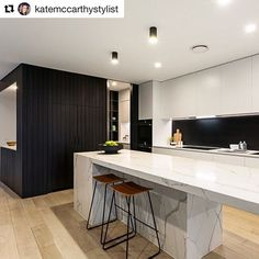@katemccarthystylist reminding us what dreams are made of. What a stunner of a kitchen. Thanks for the tag! For those wondering, that's our Kass bar stool btw. Don't forget to tag our products @interiorsecrets ! We love seeing our Interior Secrets products in action!#Repost @katemccarthystylist with @repostapp ・・・ That marble... Our vendors are constantly raising the bar with sexy kitchens! Serious design inspo in this space! @trestylist #styledbytres #realestatestyling #propertystyling…