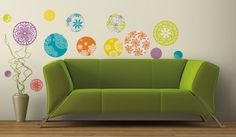 Patterned Dots Peel & Stick Wall Decals Wall Decal at AllPosters.com