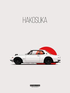 The new print of the Hakosuka now available! www.petrolified.com
