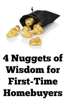 If you're thinking about buying your first home, here are 4 nuggets of wisdom we'd like to share with you   #realestate #homebuyer