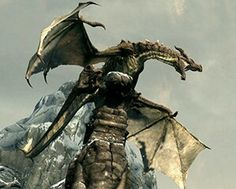"(32nd in the Elder Scrolls lore)-Author Rob Evans- These are the Dragons or Dov of Akavir they are a Reptilian race known for being extremely intelligent and powerful,there homeland is Akavir but when the Tseaci and Ka Po Tun Tried to ""consume"" all of the Red dragons the black dragons became scared and migrated to the other continents of Nirn,the Dragons also posses there own written language which they call the Thu'um Dragons also value honor as one of the highest values in there…"