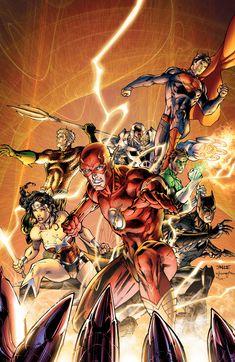 Justice League by Jim Lee