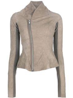 parchment leather jacket
