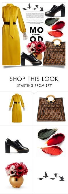 """""""Bez naslova #3200"""" by kristina-bishkup ❤ liked on Polyvore featuring Fendi, Rituel de Fille, Current Mood, Kerr® and Jayson Home"""