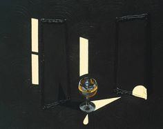Patrick Caulfield, Second Glass of Whisky (1992)