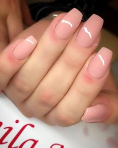 Want some ideas for wedding nail polish designs? This article is a collection of our favorite nail polish designs for your special day. Cute Nails, Pretty Nails, My Nails, Wedding Nail Polish, Wedding Nails, Nail Polish Designs, Nail Art Designs, Coffin Nails, Acrylic Nails
