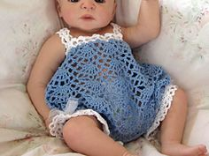 Ravelry: Cassidy Romper Sunsuit pattern by Betty Fay Wallace