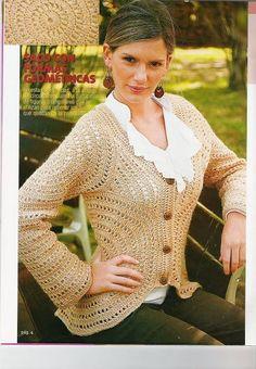 Todo para Crear ... : tejido en circulo sacos en crochet