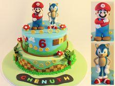mario sonic cakes - Google Search