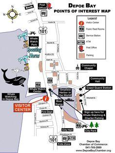 Depoe Bay Oregon Map - Bing Images
