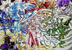 Magic Knight Rayearth by SnobVOT.deviantart.com on @deviantART