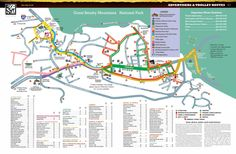 Gatlinburg | Map of Gatlinburg - Gatlinburg Trolley Map - Gatlinburg TN